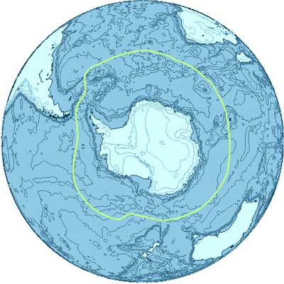 Maps Of Antarctic Ocean