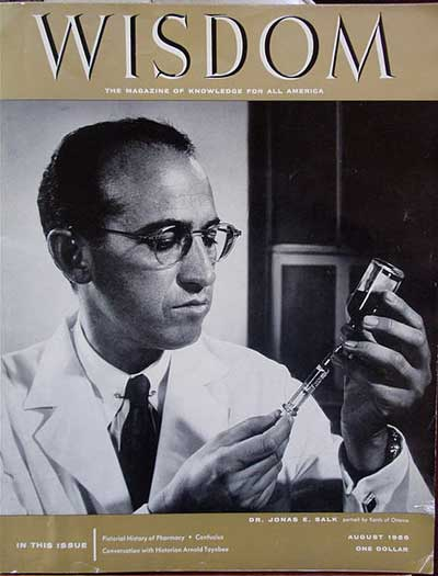an introduction to the cure for the polio by jonas salk Jonas edward salk was born october 28, 1914 in new york city, the eldest of   salk administered the vaccine to volunteers who had not had polio, including.