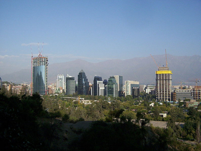 What are the major cities in Chile?